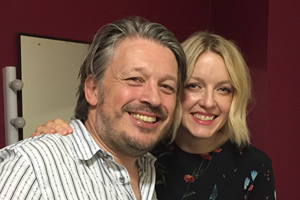 RHLSTP. Image shows from L to R: Richard Herring, Lauren Laverne.