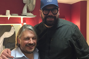 Richard Herring's Leicester Square Theatre Podcast. Image shows from L to R: Richard Herring, Tom Davis.