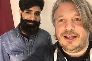 Image shows from L to R: Paul Chowdhry, Richard Herring.