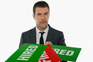 The Apprentice: You're Fired. Rhod Gilbert. Copyright: BBC.