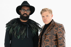Rob And Romesh Vs. Image shows from L to R: Romesh Ranganathan, Rob Beckett. Copyright: CPL Productions.