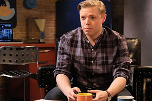 Rob Beckett plays computer games