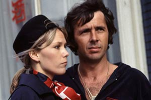 Robin's Nest. Image shows from L to R: Vicky (Tessa Wyatt), Robin Tripp (Richard O'Sullivan). Copyright: Thames Television.