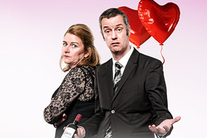 Paul Tonkinson's Valentine. Image shows from L to R: Rosie (Rosie Cavaliero), Paul (Paul Tonkinson).