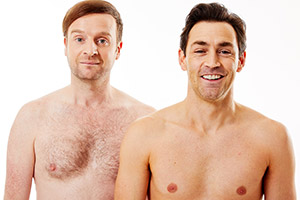 Running Naked. Image shows from L to R: Ben (Andrew Gower), Mark (Matthew McNulty). Copyright: North Of Watford Film & TV.