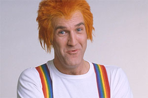 Russ Abbot's Saturday Madhouse. Russ Abbot. Copyright: London Weekend Television.
