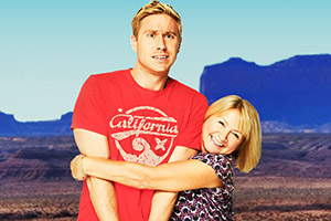 Russell Howard & Mum. Image shows from L to R: Russell Howard, Ninette Howard. Copyright: Avalon Television.