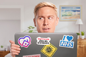 Russell Howard's Home Time. Russell Howard. Copyright: Avalon Television.