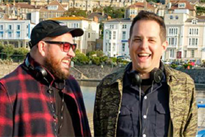 Sandylands. Image shows from L to R: Martin Collins, Alex Finch. Copyright: King Bert Productions.