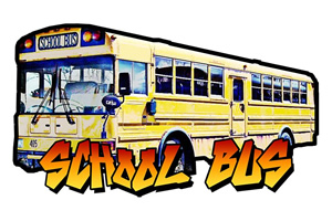 School Bus. Copyright: BBC.
