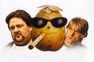Sex Lives Of The Potato Men. Image shows from L to R: Dave (Johnny Vegas), Ferris (Mackenzie Crook).