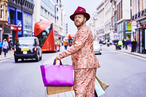 Shopping With Keith Lemon. Leigh Francis.