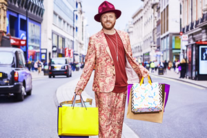 Shopping With Keith Lemon. Leigh Francis. Copyright: Talkback.
