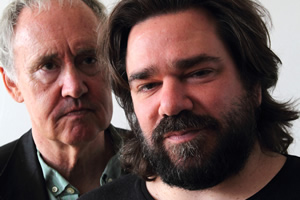 Image shows from L to R: Nigel Planer, Matt Berry.