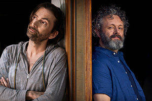 Michael Sheen and David Tennant film Staged Series 2
