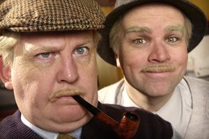 Still Game. Image shows from L to R: Jack Jarvis (Ford Kiernan), Victor McDade (Greg Hemphill).