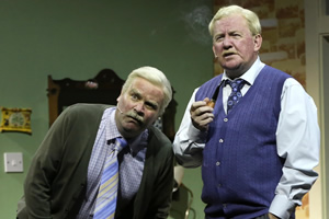 Still Game Live. Image shows from L to R: Victor McDade (Greg Hemphill), Jack Jarvis (Ford Kiernan).