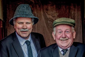 Still Game. Image shows from L to R: Victor McDade (Greg Hemphill), Jack Jarvis (Ford Kiernan).