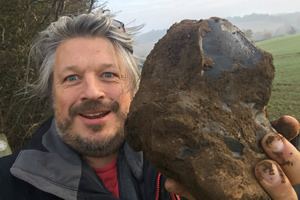 Stone Clearing with Richard Herring. Richard Herring.