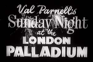 Sunday Night At The London Palladium. Copyright: Associated Television.