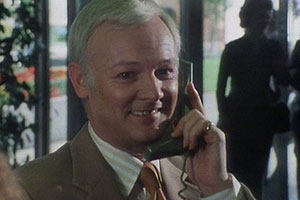 Take A Letter Mr. Jones.... Mr. Graham Jones (John Inman). Copyright: Southern Television.
