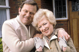 Terry & June. Image shows from L to R: Terry Medford (Terry Scott), June Medford (June Whitfield). Copyright: BBC.