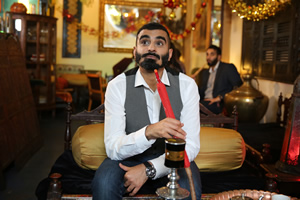 Tez Ilyas's Christmas. Tez Ilyas. Copyright: Baby Cow Productions.