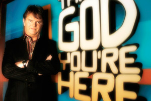 Thank God You're Here. Paul Merton. Copyright: TalkbackThames.