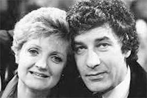 That Beryl Marston...!. Image shows from L to R: Georgie Bodley (Julia McKenzie), Gerry Bodley (Gareth Hunt). Copyright: Southern Television.