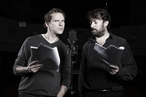 That Mitchell & Webb Sound. Image shows from L to R: Robert Webb, David Mitchell. Copyright: BBC.