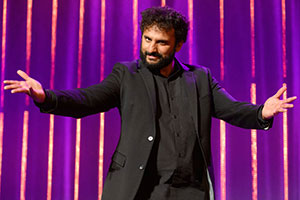 The Big Asian Stand-Up. Nish Kumar. Copyright: BBC.