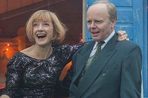 The Cruise. Image shows from L to R: Jacky (Jane Horrocks), Andy (Jason Watkins). Copyright: Emu Films.