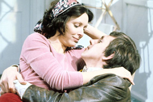 The Cuckoo Waltz. Image shows from L to R: Felicity 'Fliss' Hawthorne (Diane Keen), Chris Hawthorne (David Roper). Copyright: Granada Television.
