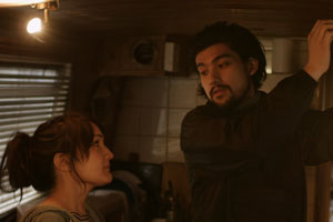 The Darkest Universe. Image shows from L to R: Alice (Tiani Ghosh), Zac (Will Sharpe).