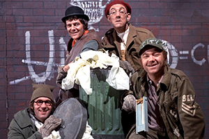 The Dustbinmen. Copyright: ITV.