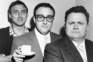 The Goon Show. Image shows from L to R: Spike Milligan, Peter Sellers, Harry Secombe. Copyright: BBC.