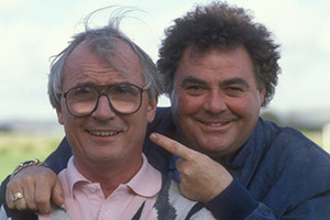 The Little And Large Show. Image shows from L to R: Syd Little, Eddie Large. Copyright: BBC.