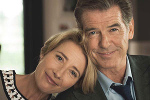 The Love Punch. Image shows from L to R: Kate (Emma Thompson), Richard (Pierce Brosnan).
