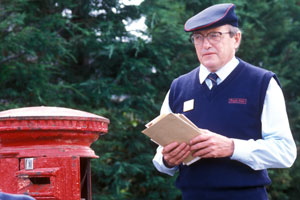 The Missing Postman. Clive Peacock (James Bolam).