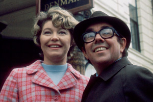 The Prince Of Denmark. Image shows from L to R: Laura (Rosemary Leach), Ronnie (Ronnie Corbett). Copyright: BBC.