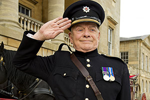 The Royal Bodyguard. Captain Guy Hubble (David Jason).