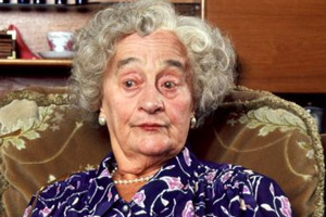 The Royle Family. Norma Speakman (Liz Smith).