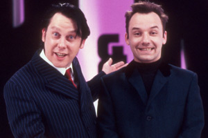 The Smell Of Reeves And Mortimer. Image shows from L to R: Vic Reeves, Bob Mortimer. Copyright: Channel X.