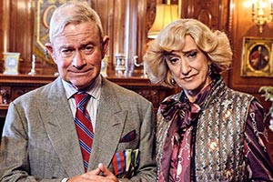 The Windsors. Image shows from L to R: Charles (Harry Enfield), Camilla (Haydn Gwynne). Copyright: Noho Film and TV.