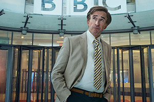 Alan Partridge returns to BBC with One Show spoof