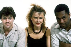 Three Of A Kind. Image shows from L to R: David Copperfield, Tracey Ullman, Lenny Henry. Copyright: BBC.