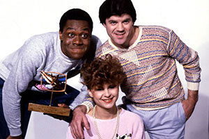 Three Of A Kind. Image shows from L to R: Lenny Henry, Tracey Ullman, David Copperfield. Copyright: BBC.