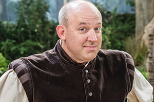 Tim Vine Travels Through Time. Tim (Tim Vine). Copyright: Baby Cow Productions.