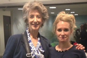 To Hull And Back. Image shows from L to R: Sheila (Maureen Lipman), Sophie (Lucy Beaumont).