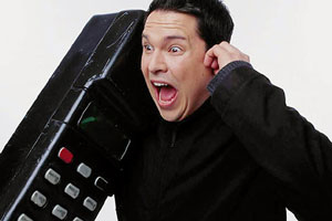 Trigger Happy TV. Dom Joly.
